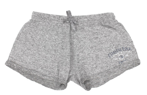 Coastal Edge Circle Wave Short Grey