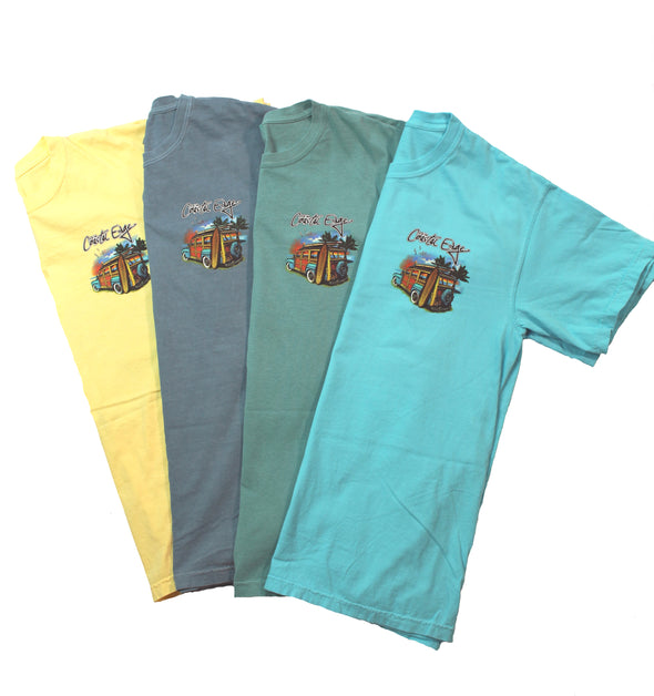 Coastal Edge Classic Woody SS T-Shirt