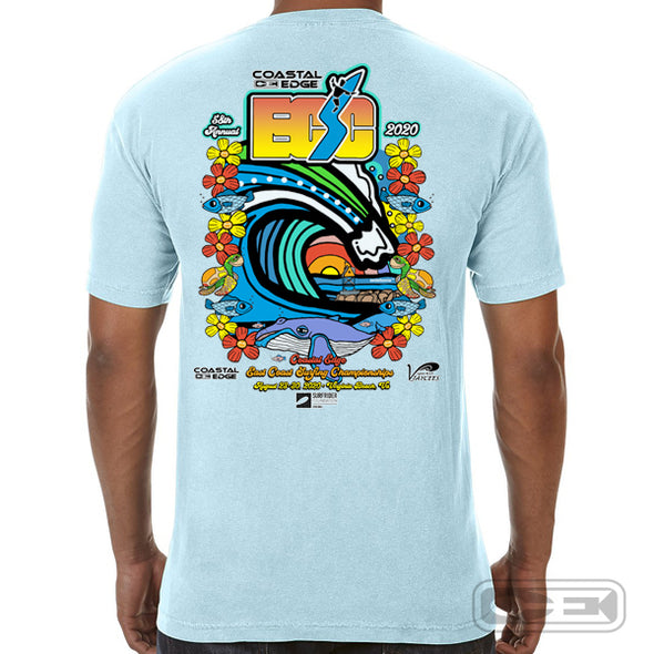 Coastal Edge East Coast Surfing Championship 2020 S/S T-Shirt Chambray
