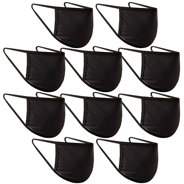 Blackstrap Civil Mask 10 Pack - Black