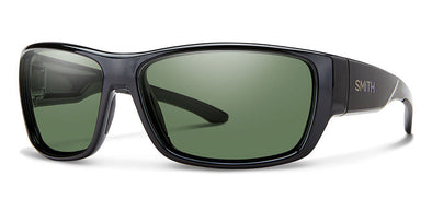 Smith Forge Sunglasses Black/ Polarized Gray Green