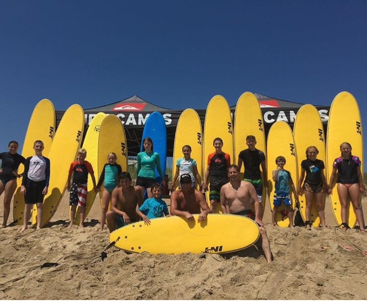 Wes Laine 3 Day Surf Camp presented by Quiksilver