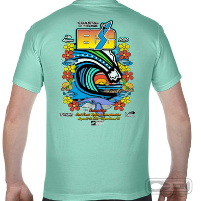 Coastal Edge East Coast Surfing Championship 2020 S/S T-Shirt Island Reef
