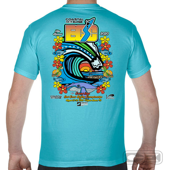 Coastal Edge East Coast Surfing Championship 2020 S/S T-Shirt Lagoon