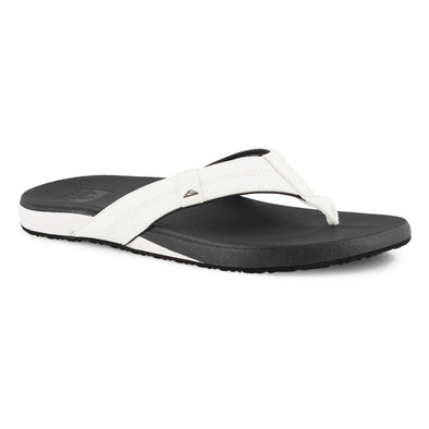 Reef Cushion Phantom Men's Sandal - White/Charcoal