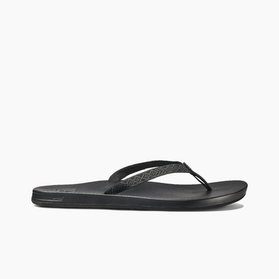 Copy of Reef Cushion Bounce Woven Sandal Black