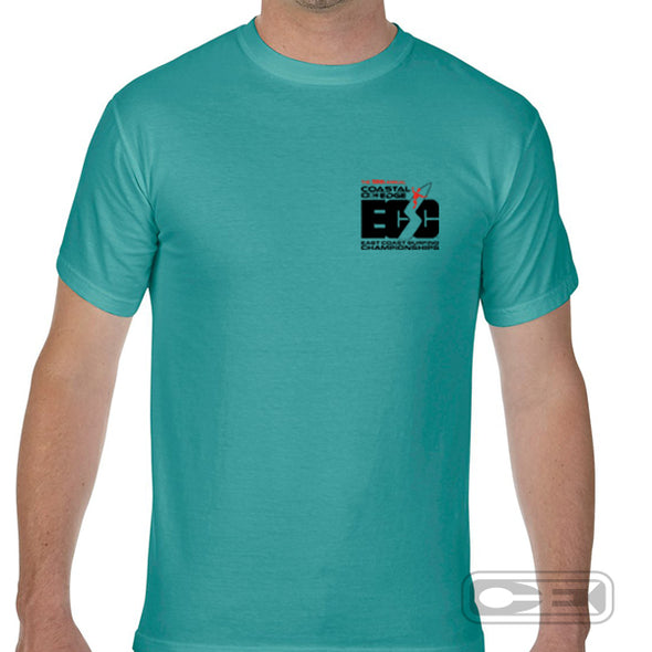Coastal Edge East Coast Surfing Championship 2020 S/S T-Shirt Seafoam