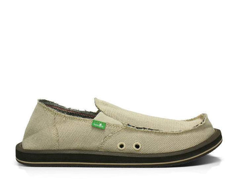 Sanuk Hemp Sidewalk Surfer Natural