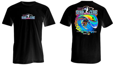 Coastal Edge 2019 Surf for the Cure SS T-Shirt Black