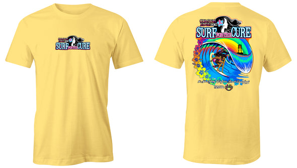 Coastal Edge 2019 Surf for the Cure SS T-Shirt Butter