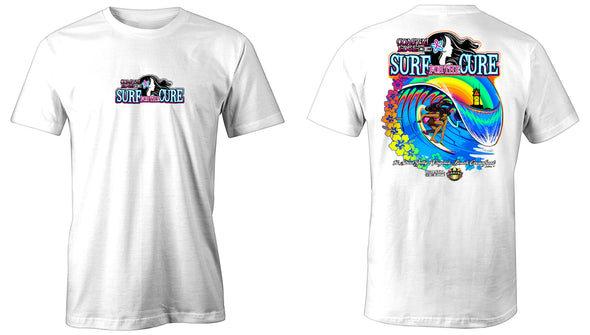 Coastal Edge 2019 Surf for the Cure SS T-Shirt White