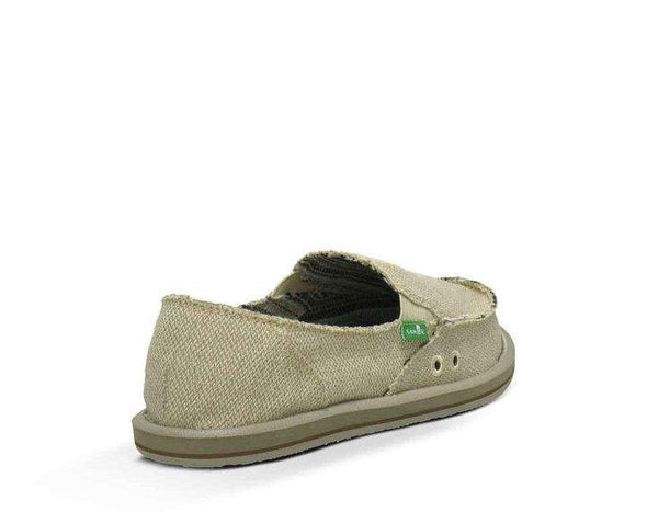 Sanuk Donna Hemp Sidewalk Surfer Natural