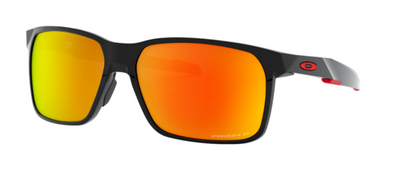Oakley Portal X Polished Black/ Prizm Ruby Polarized