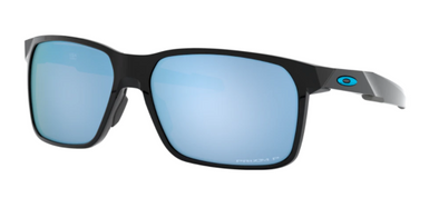 Oakley Portal X Polished Black/ Prizm Deep Water Polarized