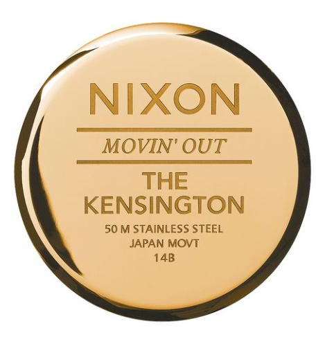 Nixon Kensington All Gold Black Sunray