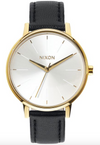 Nixon Kensington Leather Gold/White