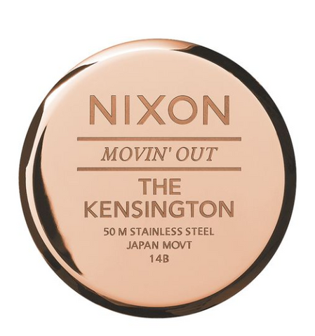 Nixon Kensington Rose Gold/ White