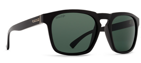 VonZipper Banner Polarized Black Gloss/Wild Vintage Grey