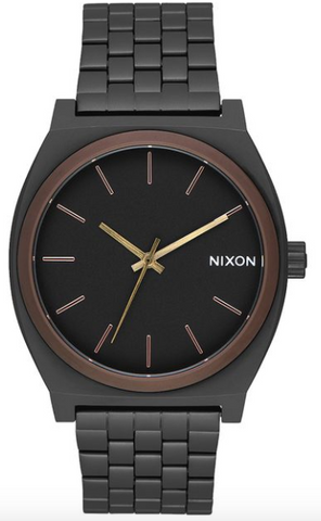 Nixon Time Teller All Black/Brown