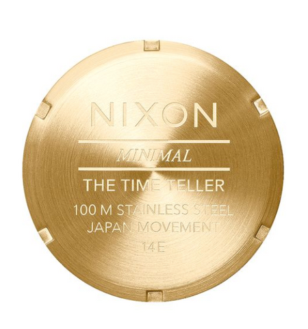 Nixon Time Teller All Gold