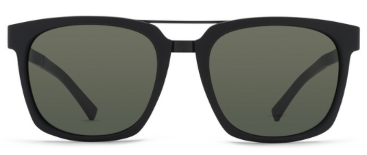 VonZipper Plimpton Black Satin/ Vintage Grey