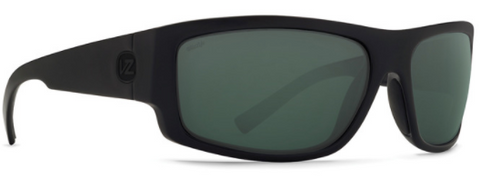VonZipper Semi Polarized Black Satin/ Wild Black Smoke