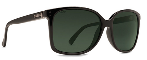VonZipper Castaway Polarized Black Gloss/ Wild Vintage Grey
