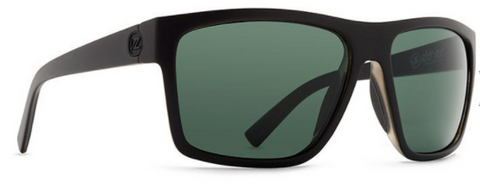 VonZipper Dipstick Black Satin/ Grey