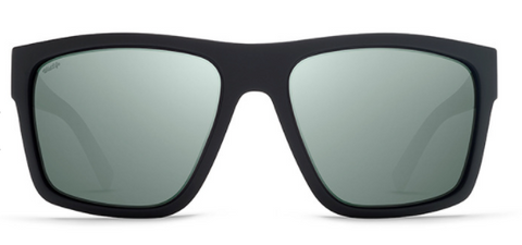 VonZipper Dipstick Polarized Black Satin/ Wild Silver Flash
