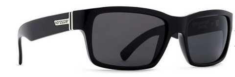 VonZipper Fulton Black Gloss/Grey