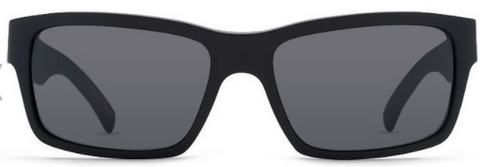 VonZipper Fulton Black Satin/ Grey