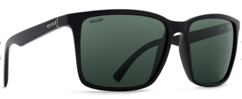 VonZipper Lesmore Polarized Black Gloss/ Wild Vintage Grey