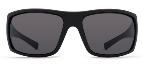VonZipper Suplex Black Satin/ Grey