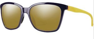 Smith Colette Midnight Matte Honey Polarized