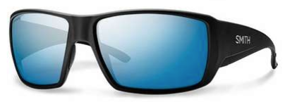 Smith Guides Choice Sunglass ChromaPop Matte Black/ Polarized Blue Mirror