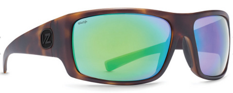 VonZipper Suplex Polarized Tortoise Satin/ Wild Green Chrome