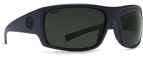 VonZipper Suplex Polarized Black Satin/ Wild Vin