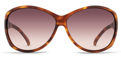 VonZipper Vacay Tort Satin /Brown Gra