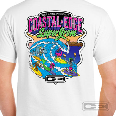 Wes Laine presents The Coastal Edge Super Grom 2020 T-Shirt