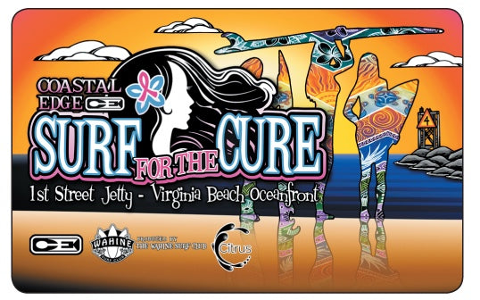 Coastal Edge Surf for the Cure Gift Card