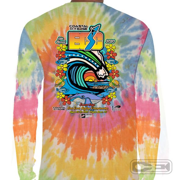 Coastal Edge East Coast Surfing Championship 2020 L/S T-Shirt Eternity