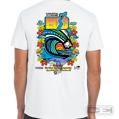Coastal Edge East Coast Surfing Championship 2020 S/S T-Shirt White