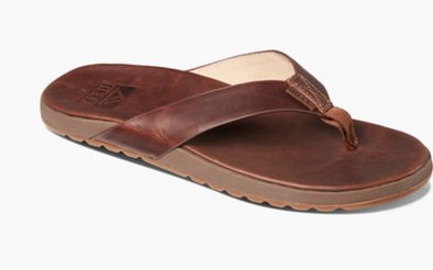 Reef Contoured Voyage Le Men's Sandal - Bronze Brown
