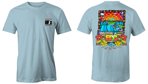 Vans presents the Coastal Edge East Coast Surfing Championship 57th Annual 2019 S/S T-Shirt Chambray