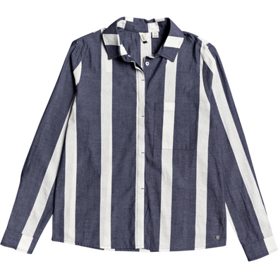 Mess Is Mine Stripe Long Sleeve Shirt