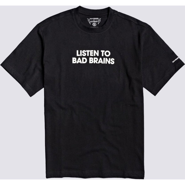 LISTEN TO BAD BRAINS SS TEE