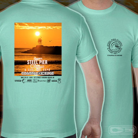 Coastal Edge Steel Pier Classic Short Sleeve T-shirt Island Reef