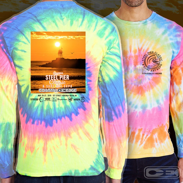 Coastal Edge Steel Pier Classic 2019 Long Sleeve T-shirt Eternity