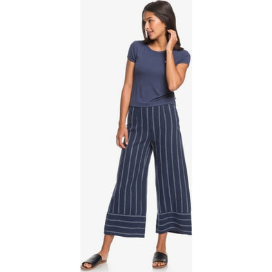 Tell Me Ok High Waist Wide Leg Linen Pants