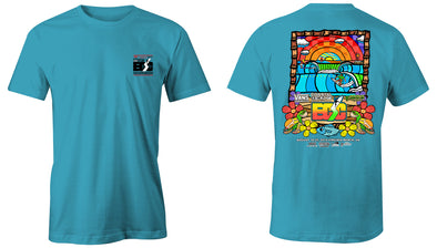 Vans presents the Coastal Edge East Coast Surfing Championship 57th Annual 2019 S/S T-Shirt Lagoon
